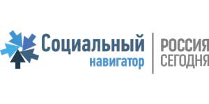 лого Социальный навигатор Россия сегодня