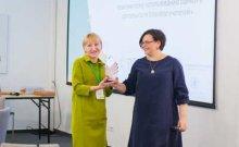 фото церемония награждения победителя премии в области оценки Форума Доноров и АСОПП